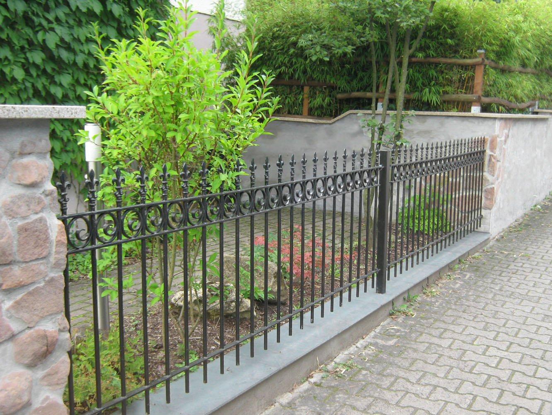 Verzinkter Gartenzaun Finest Gartenzune Aus Stahl Verzinkt With