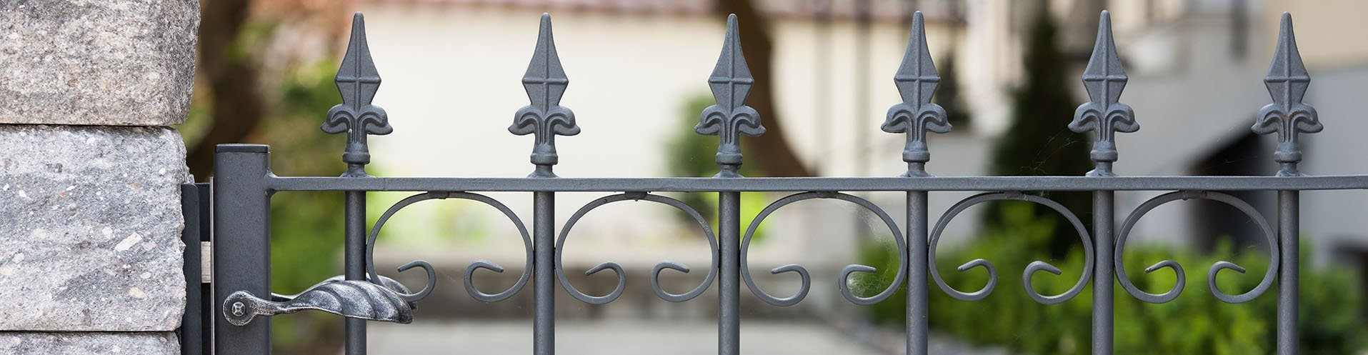 Gartentüren aus Metall